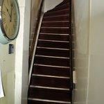 la prima delle 4 rampe di scale!!
