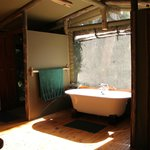 Bathroom with a view - River Camp