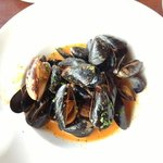 Thai red curry mussels - yummy!!!