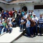 Grupo de ganadores DRACMA al ingreso de la Hosteria Duran
