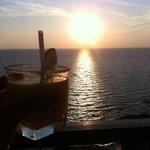 Sunset at Klong Nin Beach