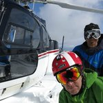 Eagle Pass heli drop in the Monashees