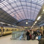 EuroStar train station