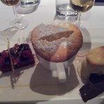 Soufflé dessert