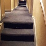 Steps from front desk