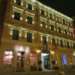 Belonging to Garden Palace hotel