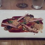 Swartland Guineafowl served with a Cabernet Franc