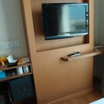 Room is basic, with LCD TV and safety box only