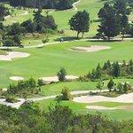 Sicht auf Golfplatz
