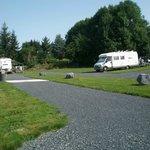 aire de camping-car avec tous les services