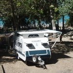 Beachfront Caravan Sites at Cape Hillsborough Nature Resort