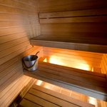 Sauna in Deluxe room