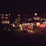 The fantasic Christmas light display - the best in area