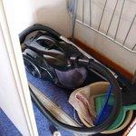 Sliding door - one of three - lower rollers broken