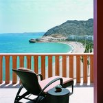 Al Husn Hotel Suite Balcony View