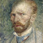 Self-portrait 1887. Vincent van Gogh.