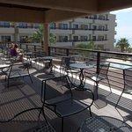 Drinks terrace