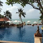 chilling pool area .. NICE