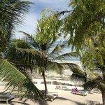Spiaggia davanti all'hotel