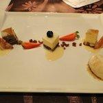 Dessert - trio of cheesecakes