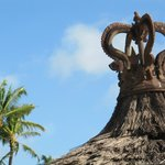 Balinese architecture in the resort