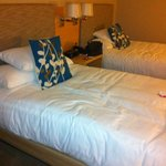 our room...the beds are so comfy!
