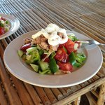 Salad with tuna and feta :)