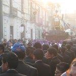 paso de la procesión de Jesús del Consuelo