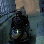 Bobsled on the Lake Placid Olympic Track