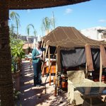 Roof Garden with its Berber Tent