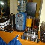 dispenser acqua e succhi
