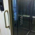Schlüsselgesicherter Aufzug