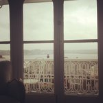 View from the bed in the Estuary Room