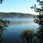 West Chickenbone Lake on the Greenstone Ridge Trail