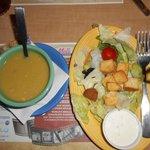Side Soup n' Salad