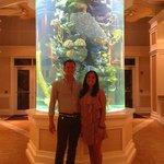 The lobby fishtank