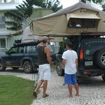 Central America Overland Expeditions vehicles