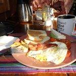 Breakfast-always a treat
