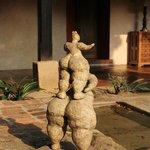 Algunas de las esculturas