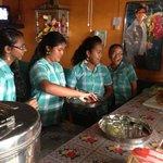 in Villa Zapakara gaan kinderen zelf aan de slag