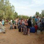 Un groupe au camp
