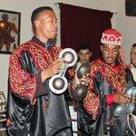 la soirée avec des musiciens marocains