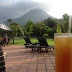 Happy Hour at Volcano Lodge!