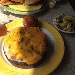Seafood Plank (seafood shepherds pie)