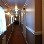 typical corridor very clean