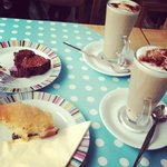 Amazing cakes and coffee!