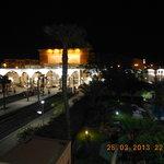 vue de la chambre 228 sur la gare de marrakech