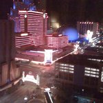 View of Reno Arch from 16th Floor of Harrah's...