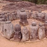 there are hundreds of stone stupas that have been excavated. and there is so much yet to be done