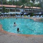 Pileta del resort